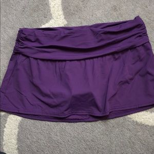 Lands End Swim Skirt size 10